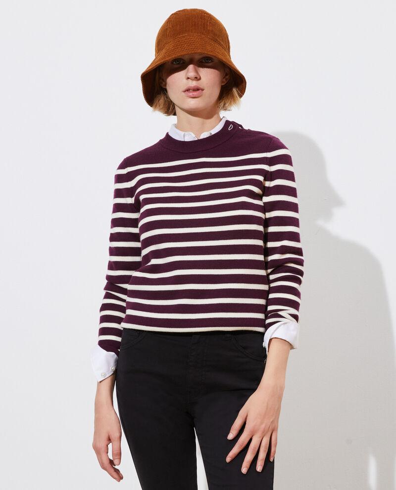 MADDY - Jersey marinero de lana Stp prpl jtst Liselle