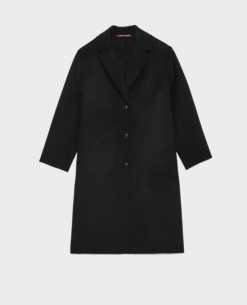 Abrigo de lana Black beauty Maclas