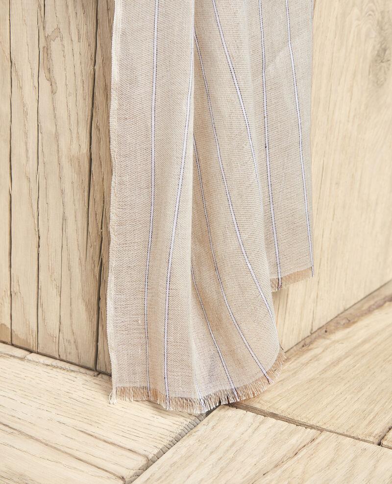 Foulard avec du lin Sand beige Icla