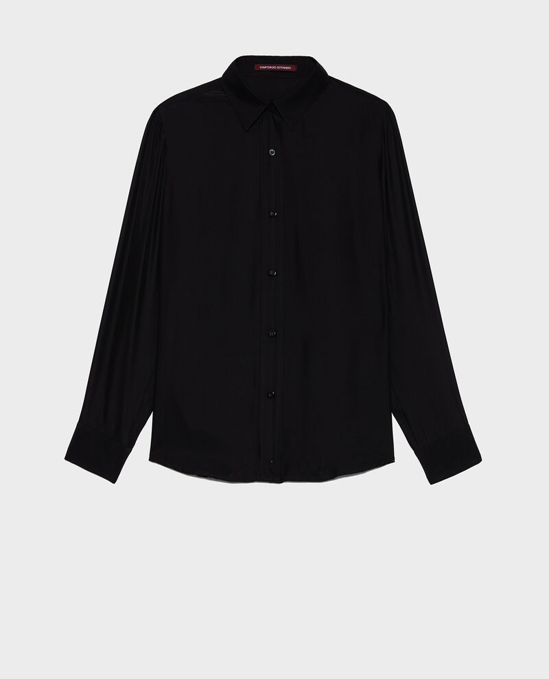 Camisa de seda Black beauty Loriges