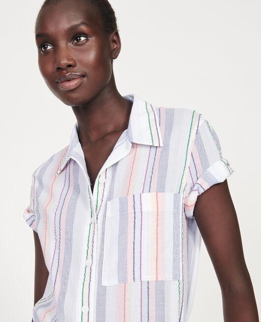 Camisa de algodón STRIPES MULTICO