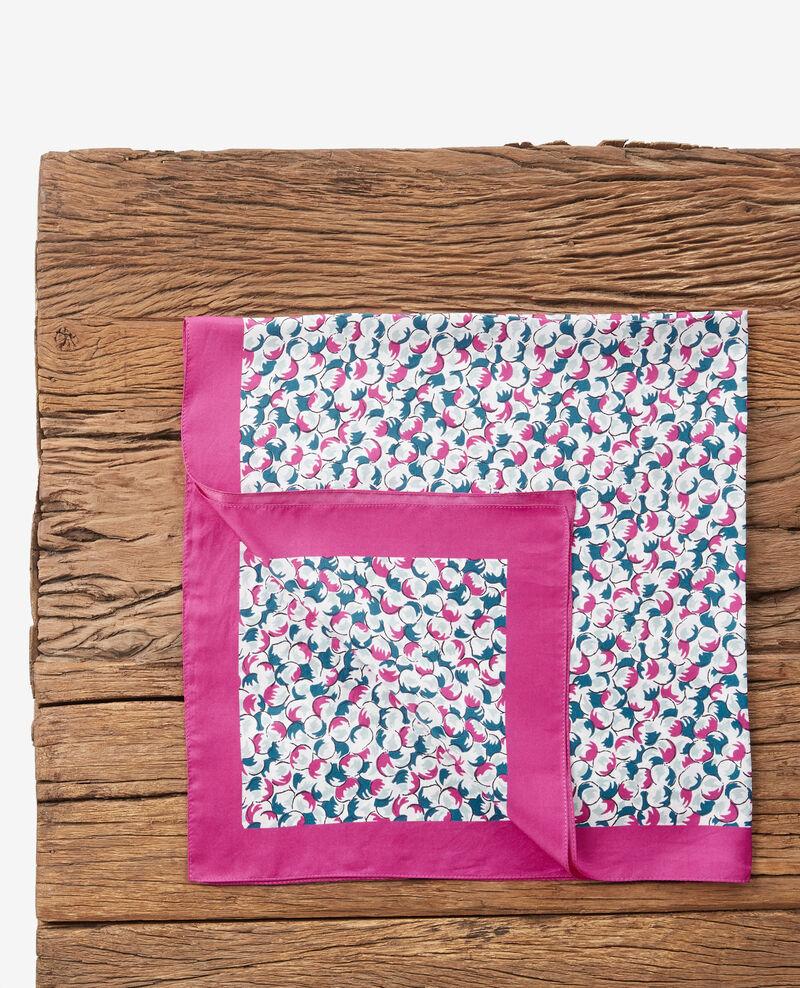 Fulard estampado de seda Bubbles peony Dabeille