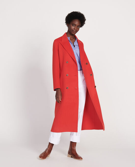 Abrigo largo FIERY RED
