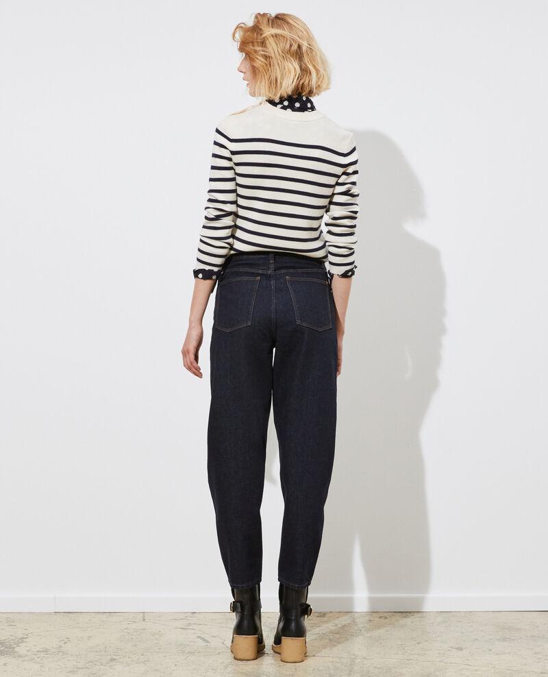 SIDONIE - BALLOON - Jeans amplios 7/8 talle alto Denim rinse Palloon