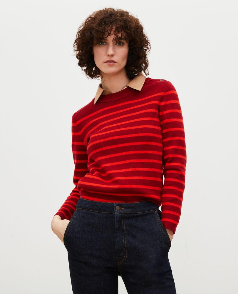 MADDY - Jersey marinero de lana Str_ryr_fyr Liselle