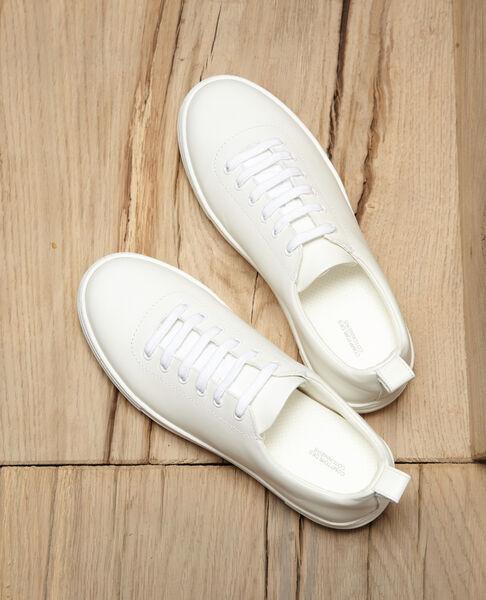 Comptoir des Cotonniers - Sneakers con plataforma Blanco - 3