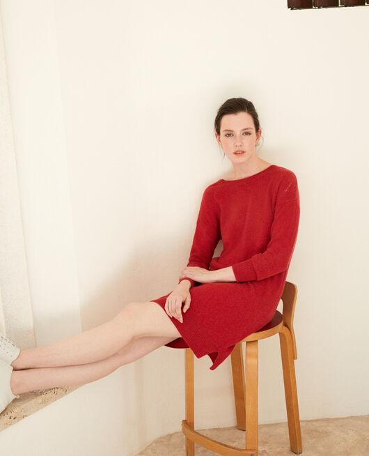 Vestido de cachemir POMPEIAN RED