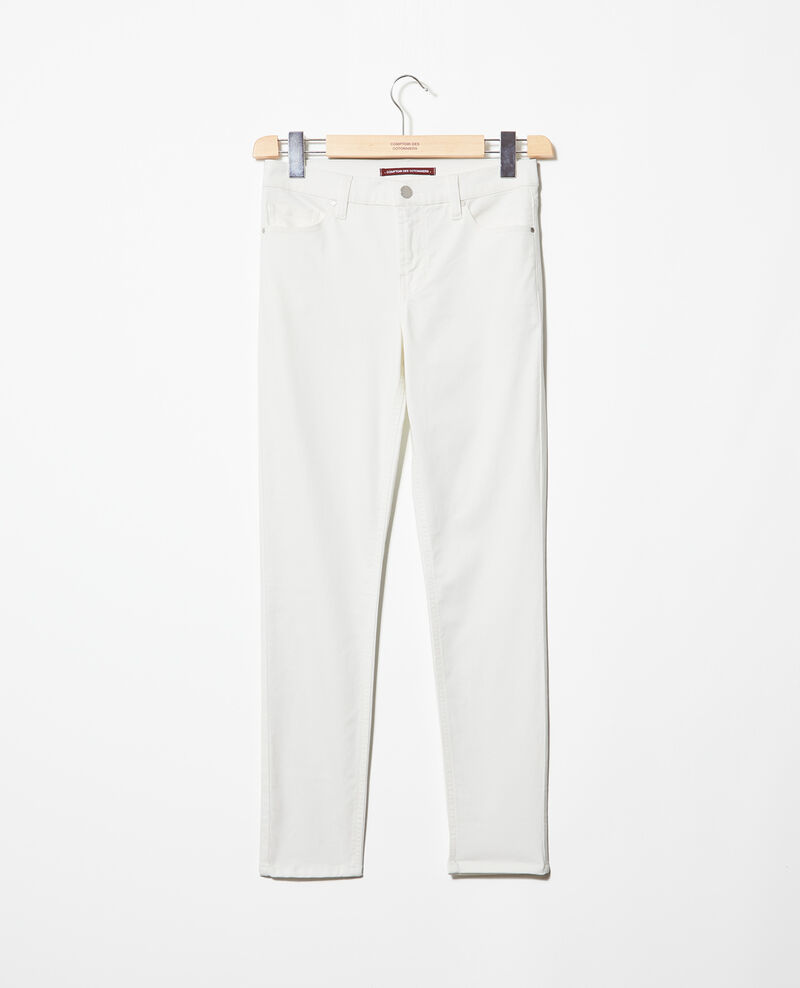 Jeans skinny 7/8 Blanc Ibonaira