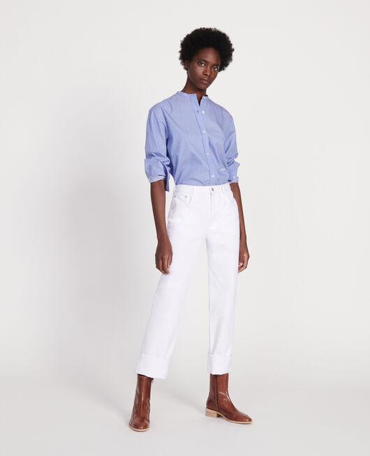 Jeans rectos OPTICAL WHITE