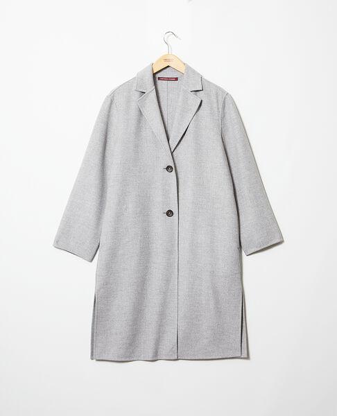 Comptoir des Cotonniers - Abrigo de doble cara Light grey - 3