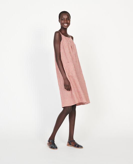 Vestido de algodón VICHY KETCHUP BUTTERCREAM