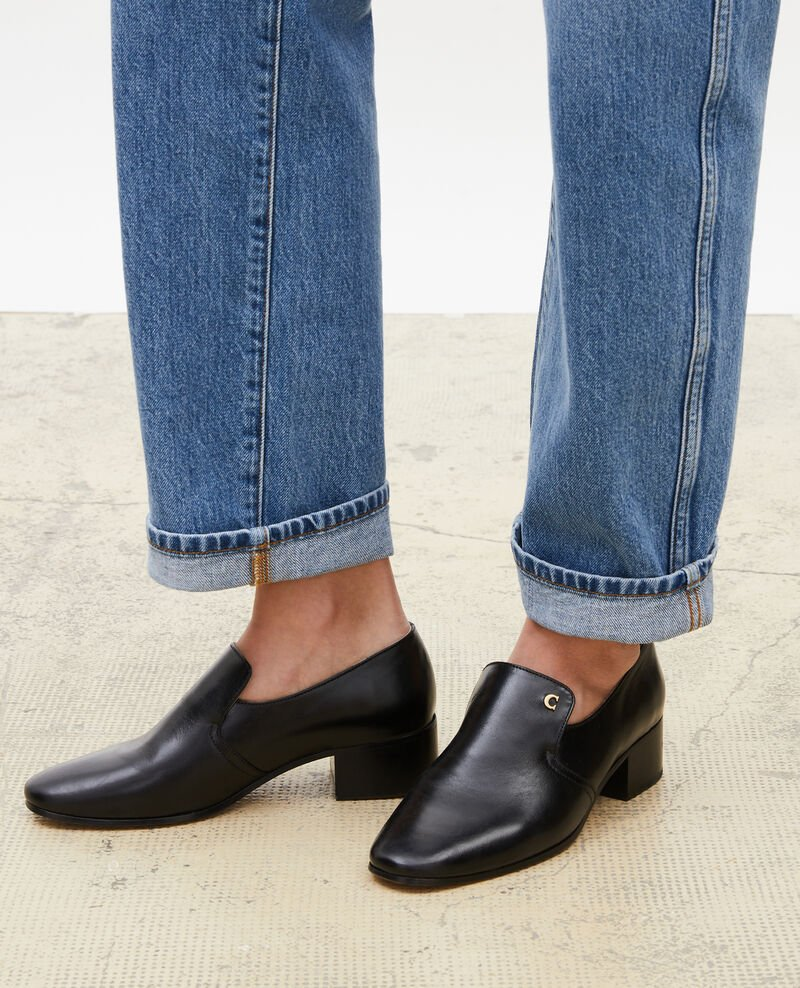 Mocasines de cuero Black beauty Meaux