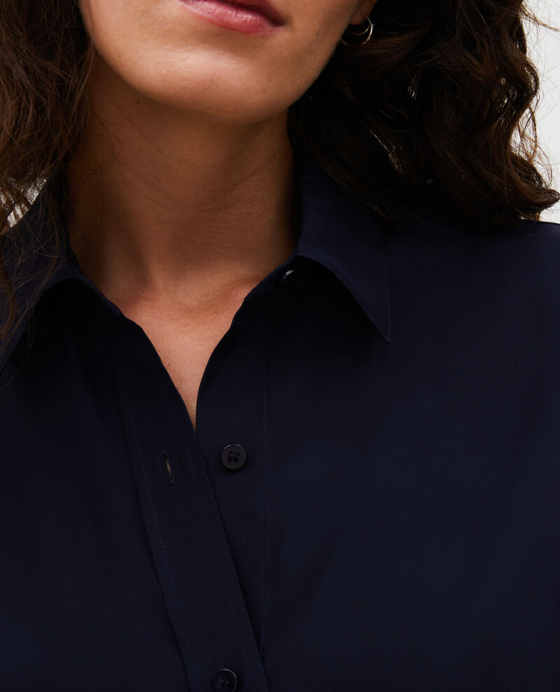 Camisa masculina de seda con manga larga Night sky Moriges