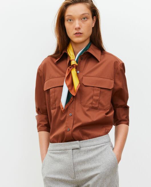 Camisa de hombre de algodón oversize TORTOISE SHELL