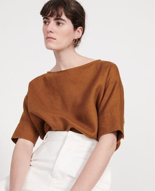 Blusa de lino MONKS ROBE