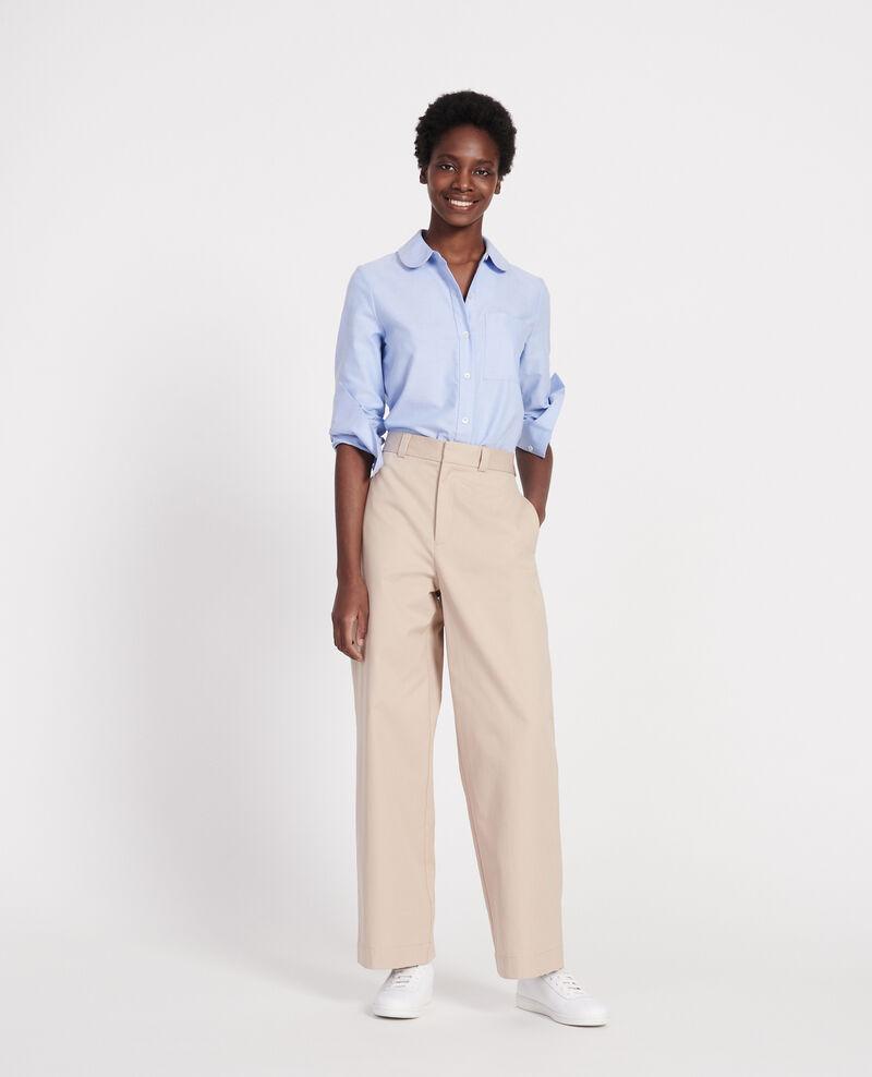Pantalón masculino de algodón Oxford tan Lodrey