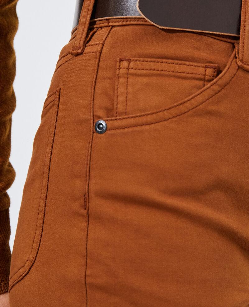 DANI - SKINNY - Jeans talle alto con 5 bolsillos Monks robe Pozakiny