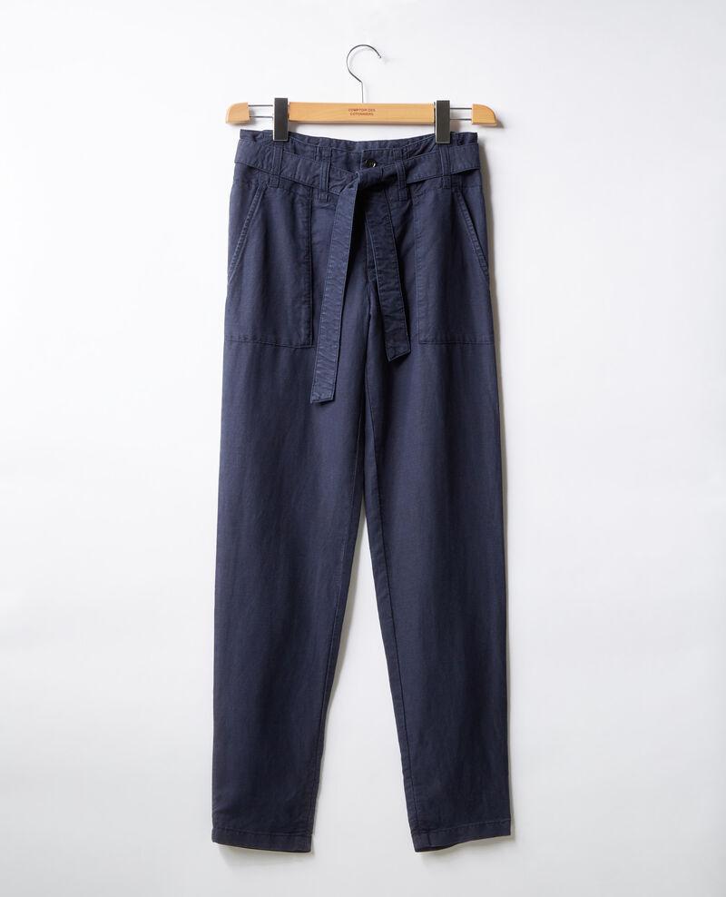 Pantalón chino con cinturón  Marine Faaron