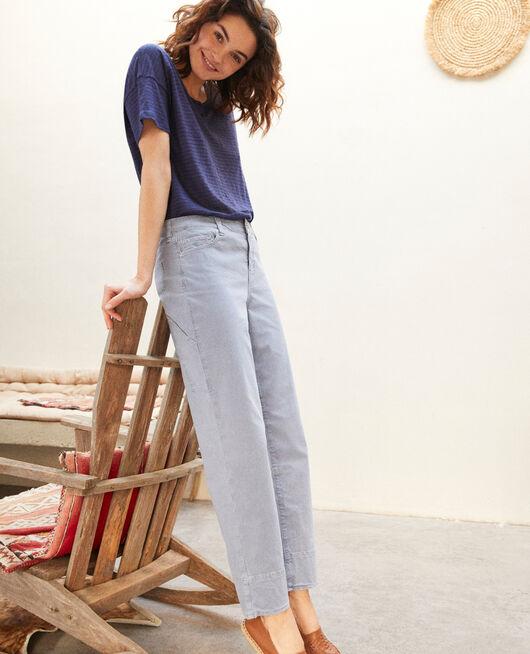 Jeans straight RIBBON BLUE