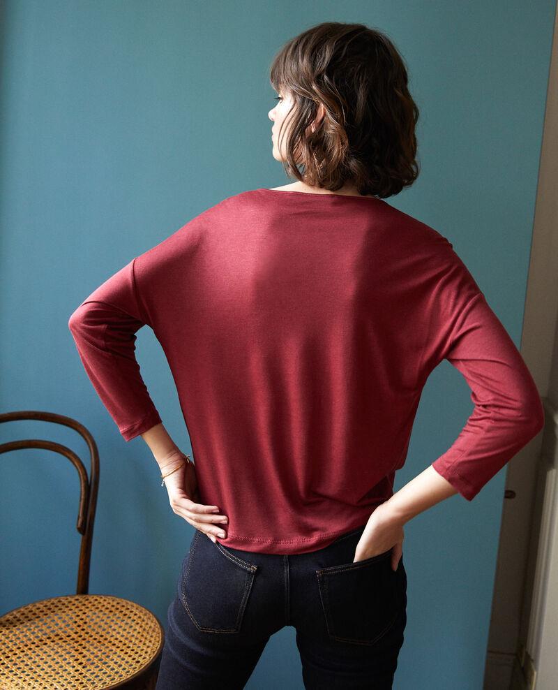 Camiseta de cuello redondo Rio red Graziela