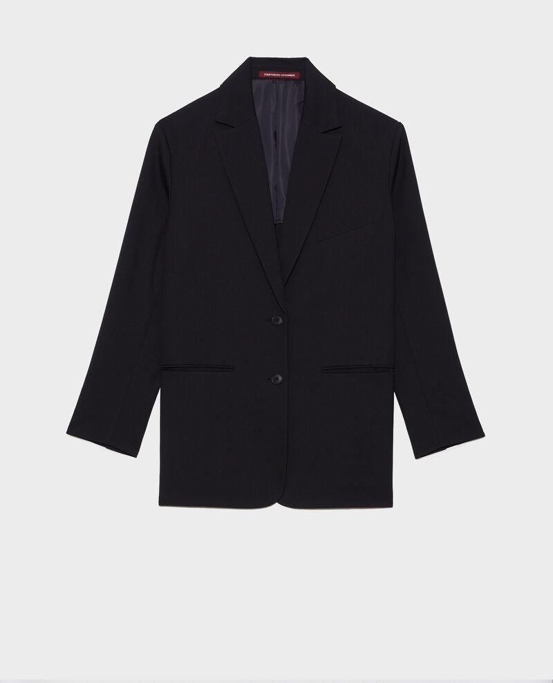 Blazer masculino de lana Black beauty Nably