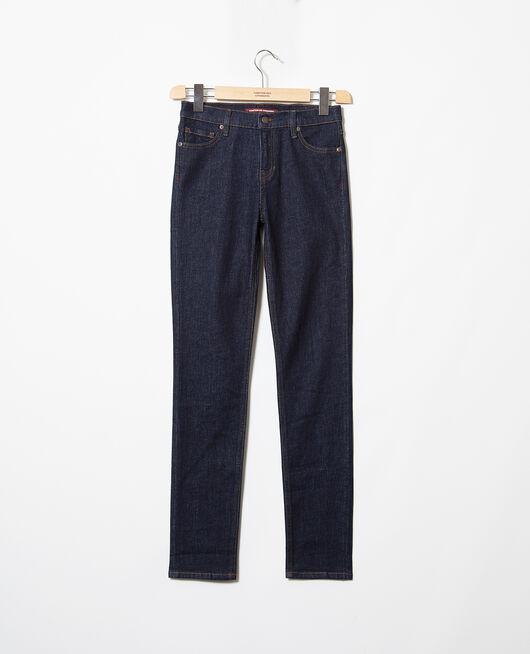 Jeans corte slim Bleu