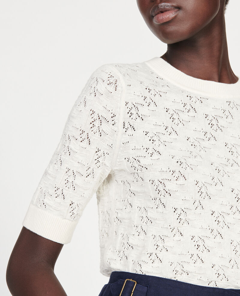 Camiseta de punto Buttercream Lagos