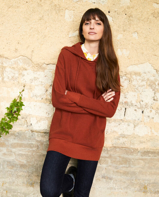 Sudadera con capucha BRANDY BROWN