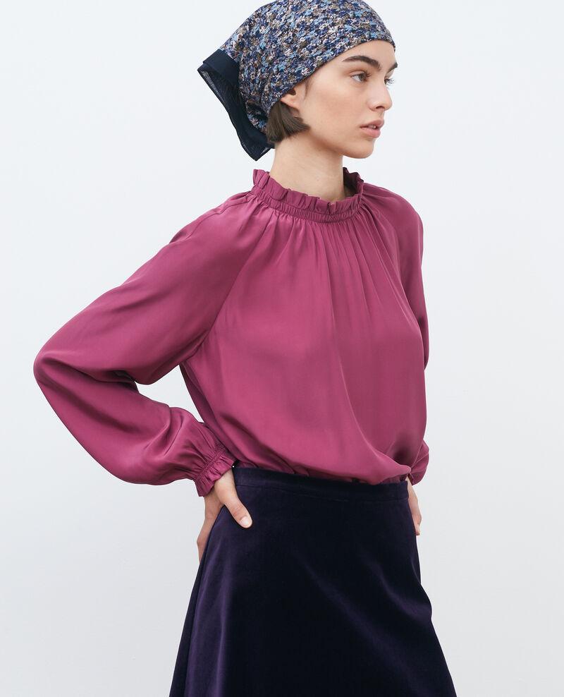 Blusa de seda Damson Pachat