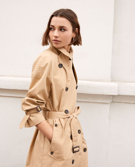 Trench atemporal SAFARI BEIGE