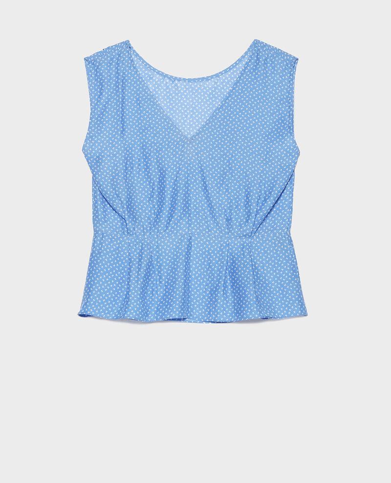Blusa de seda Memphis persian jewel Lafox