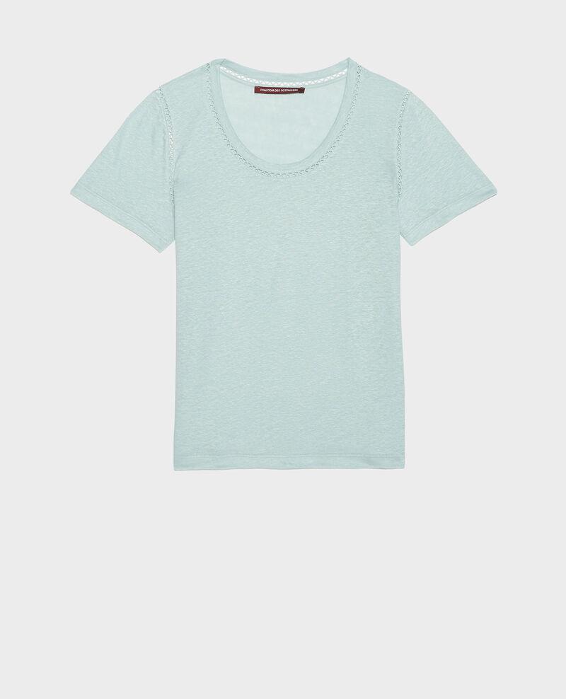 Camiseta de lino de jersey Blue haze Lye