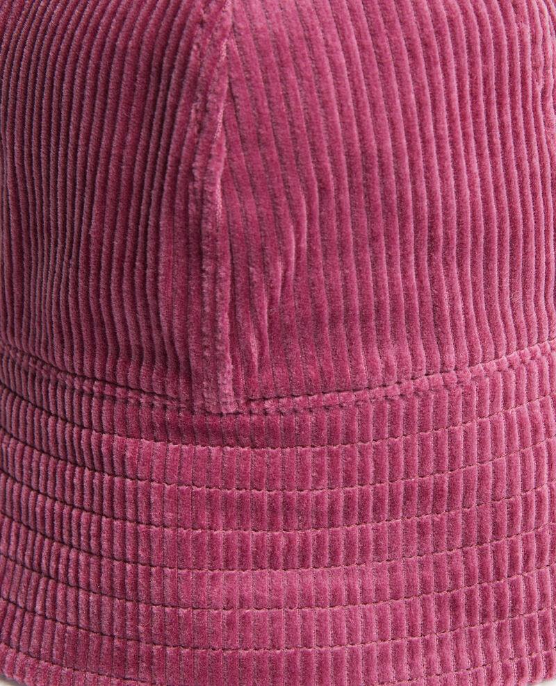Sombrero bob de pana Damson Pelo