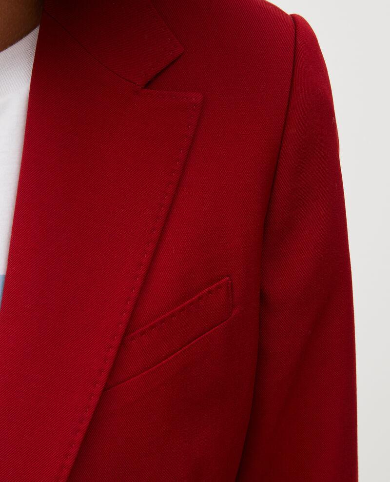 Blazer de lana masculino entallado Royale red Mesanger
