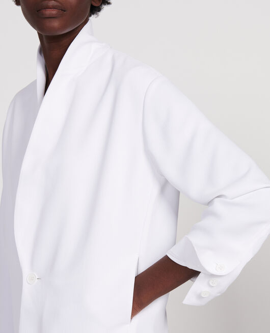 Chaqueta de smoking OPTICAL WHITE