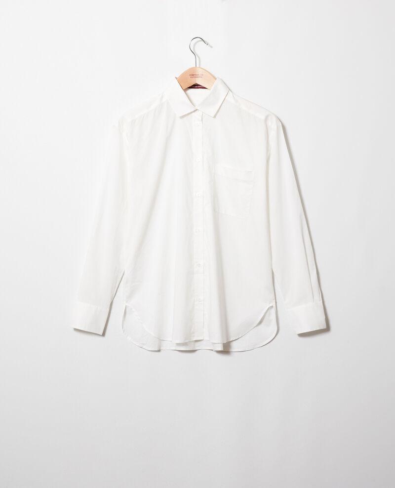 Camisa de algodón Coconut milk Jilouette