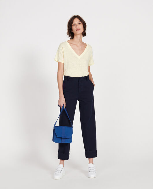 Bolso pequeño de algodón PRINCESS BLUE