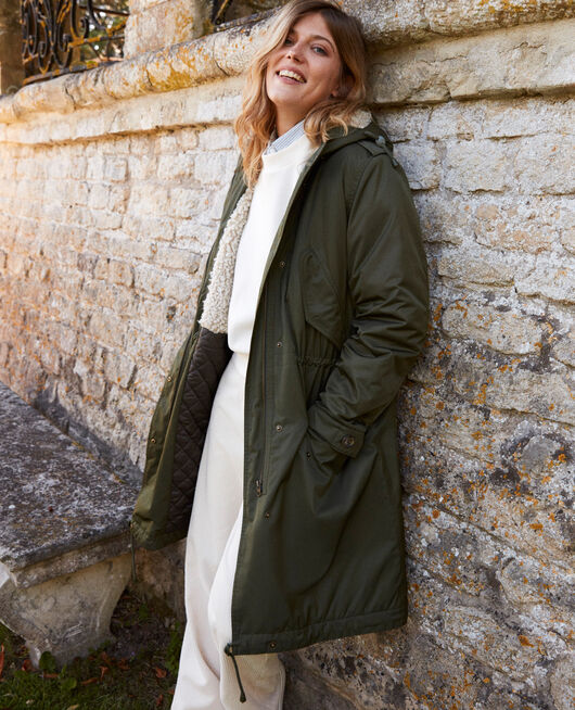 Parka con capucha DEEP DEPTHS