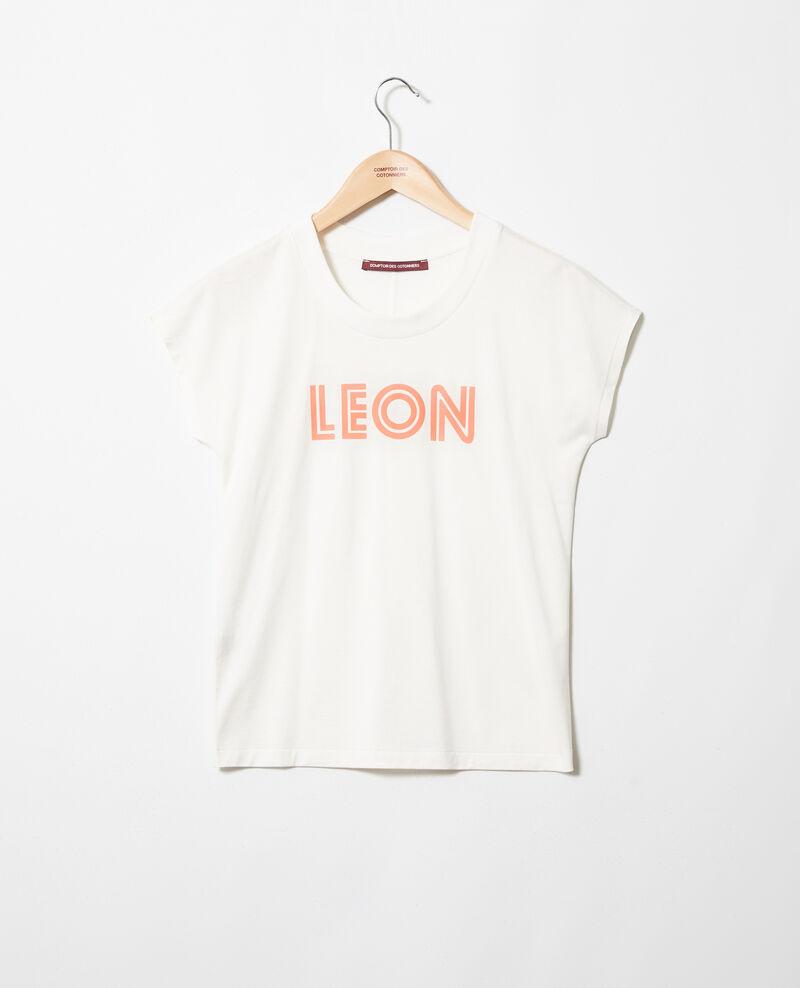 """Camiseta """"Léon"""" Ow/salmon pink Ithera"""