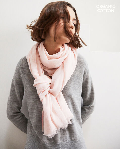 Comptoir des Cotonniers - Fular de algodón orgánico Light pink - 1
