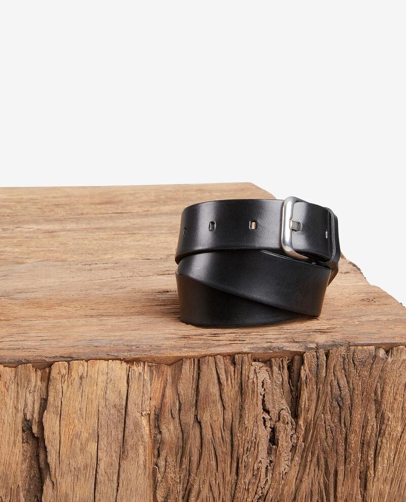 Cinturón de cuero Noir Fiable