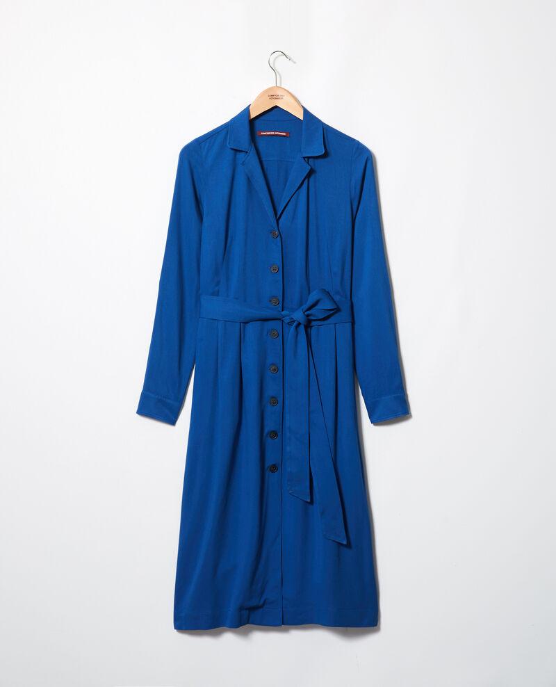Vestido de cuello abierto   Imperial blue Imonade