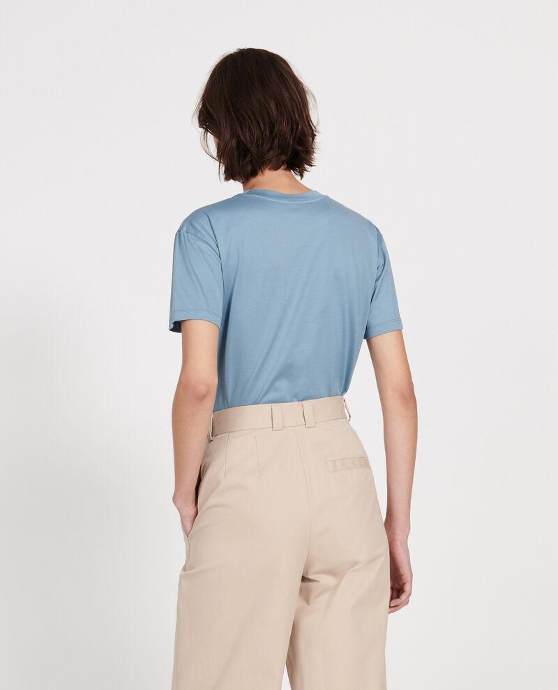 Camiseta clásica de algodón egipcio Bluestone Lirous