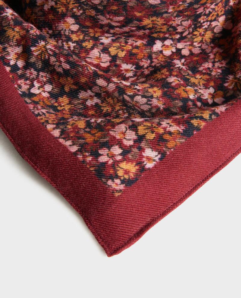 Pañuelo de lana estampado Cabernet Piberty