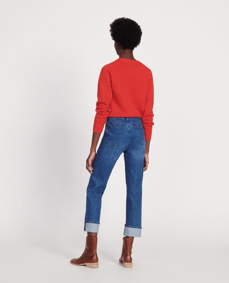 Jeans de corte recto Denim medium wash Linneou