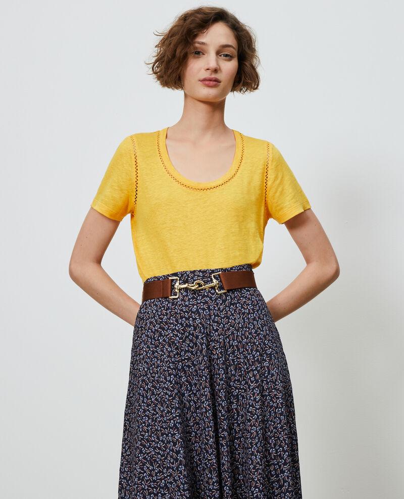 Camiseta de lino Spectra yellow Lye