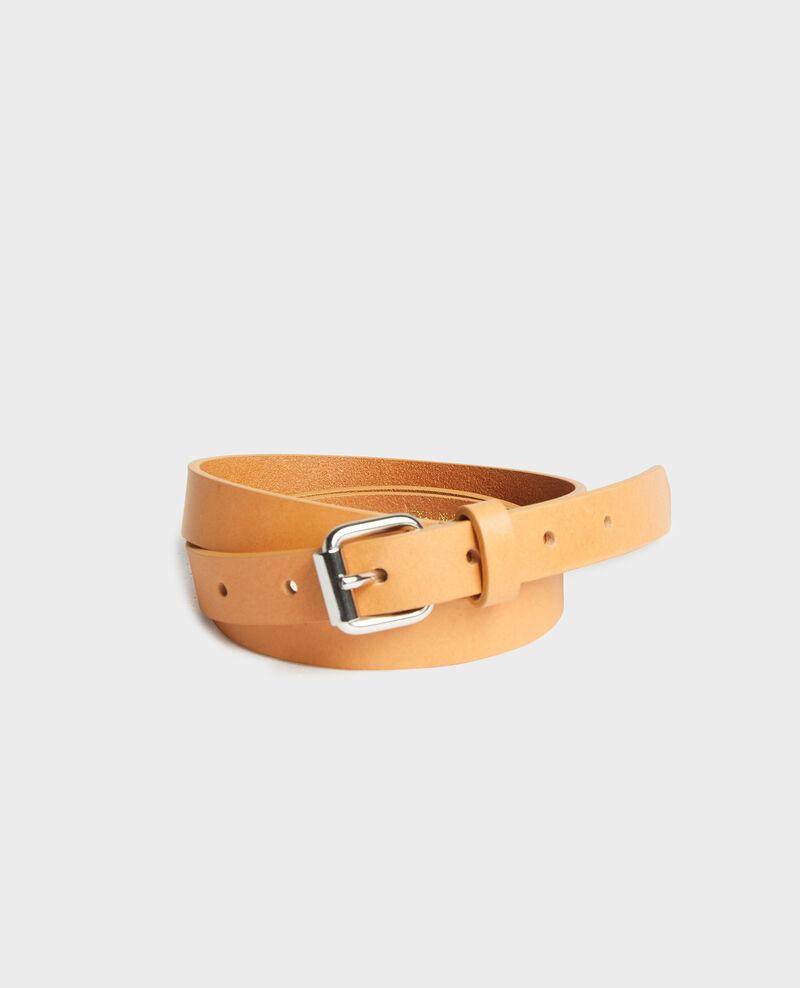 Cinturón de cuero Camel Lienor