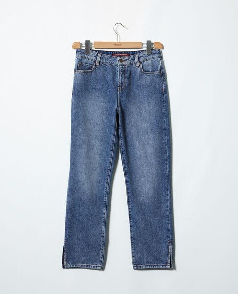 Comptoir des Cotonniers - Jeans straight con abertura Vintage wash - 2