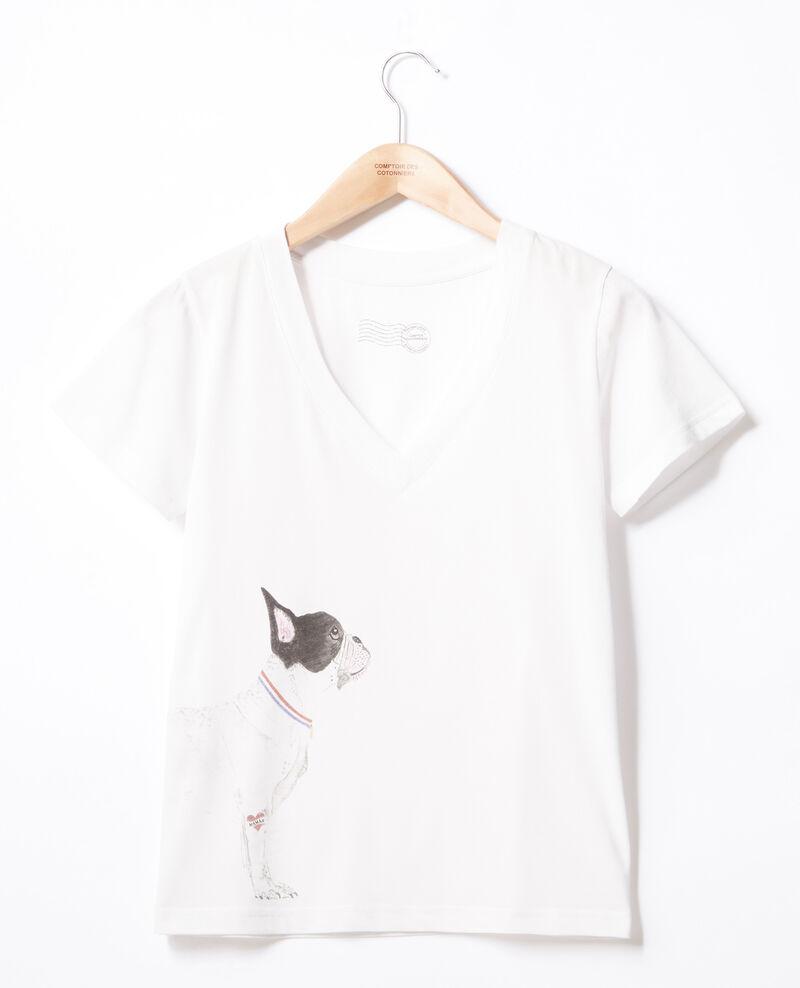 Camiseta Léon Off white Flynn