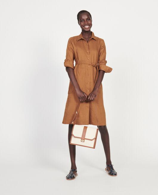Vestido de lino MONKS ROBE